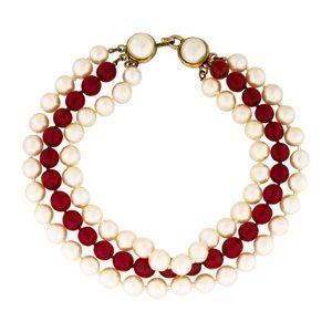 Chanel Multi Strand Necklace